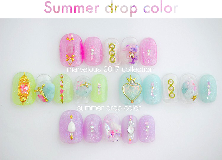 Summer drop color