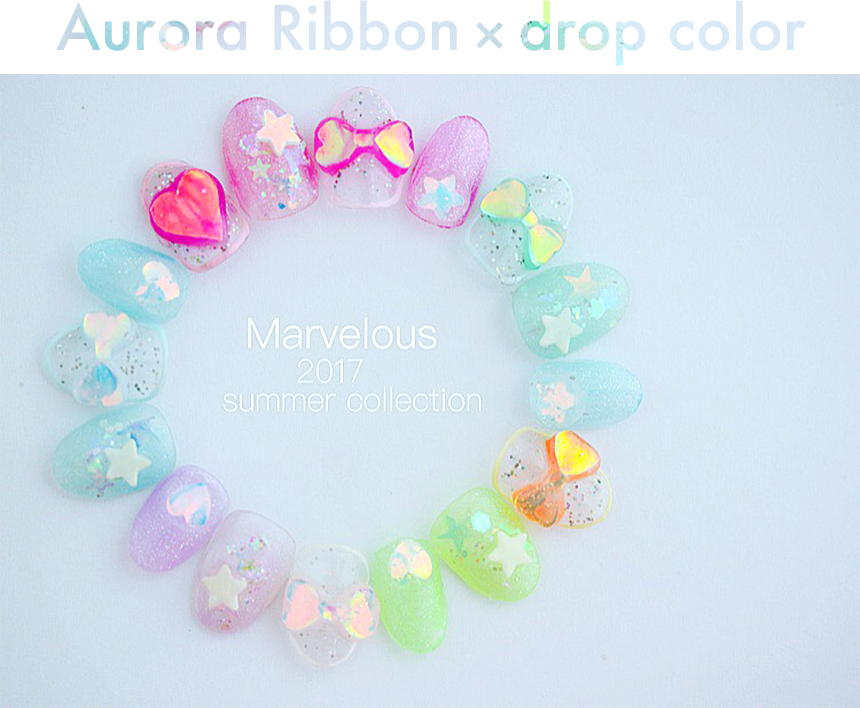 Aurora jewel・drop color